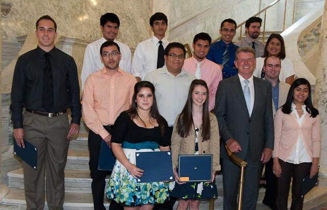 2012 Jalapeno Recipients